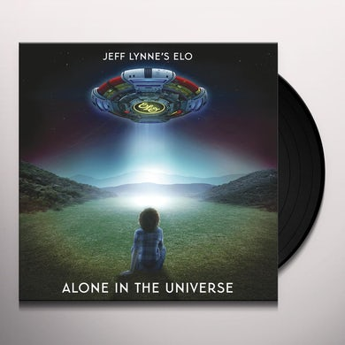 ELO (Electric Light Orchestra): ALONE IN THE UNIVERSE Vinyl Record