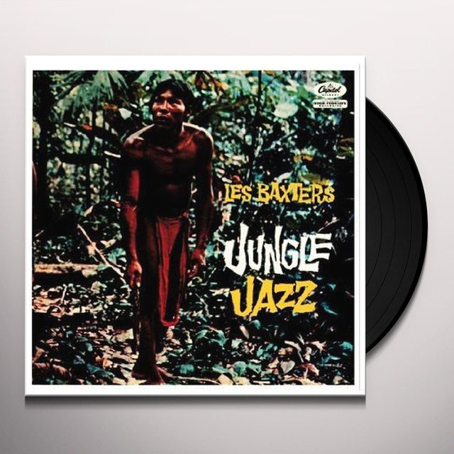 LES BAXTERS JUNGLE JAZZ Vinyl Record - Italy Release