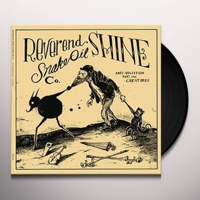 REVEREND SHINE SNAKE ANTI-SOLIPSISM PART ON (GER) Vinyl Record