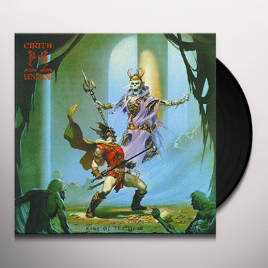 Cirith Ungol KING OF THE DEAD Vinyl Record