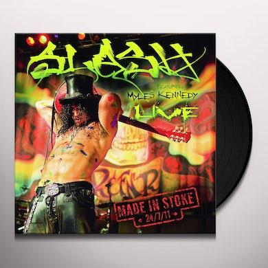 Slash Made In Stoke 24/7/11 Vinyl Record