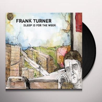 Frank Turner SLEEP IS FOR THE WEEK (TRANS BROWN) Vinyl Record