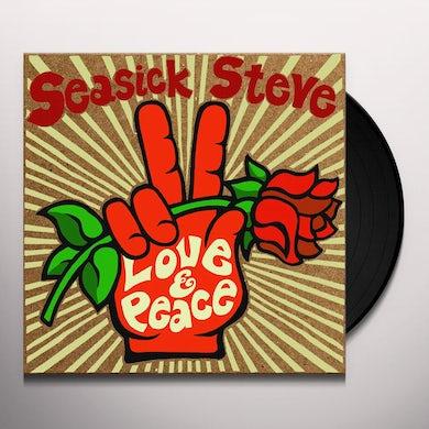 Seasick Steve LOVE & PEACE Vinyl Record