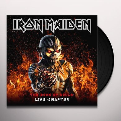 Iron Maiden BOOK OF SOULS: LIVE CHAPTER Vinyl Record