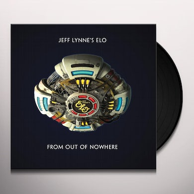 ELO (Electric Light Orchestra) FROM OUT OF NOWHERE Vinyl Record