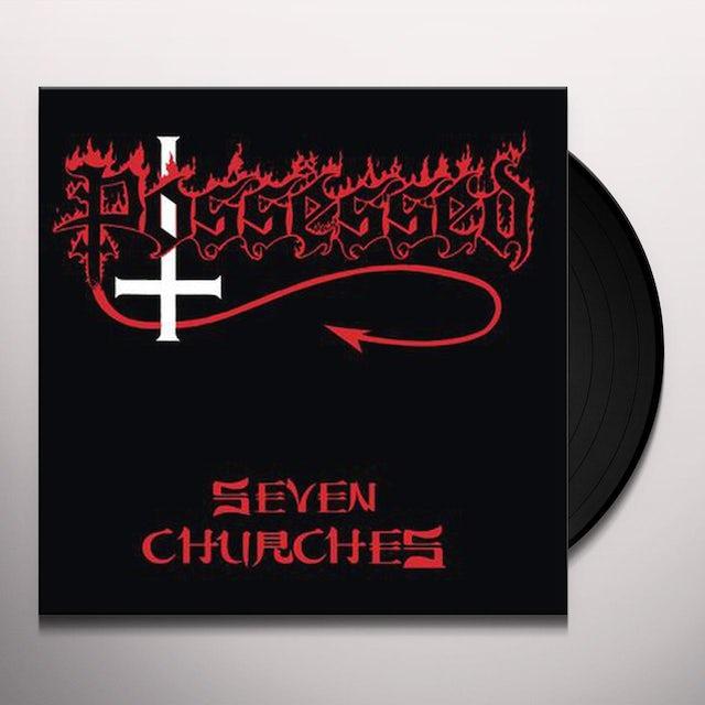 Possessed SEVEN CHURCHES Vinyl Record