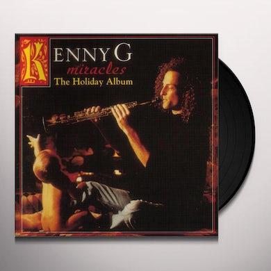 Kenny G MIRACLES: A HOLIDAY ALBUM Vinyl Record