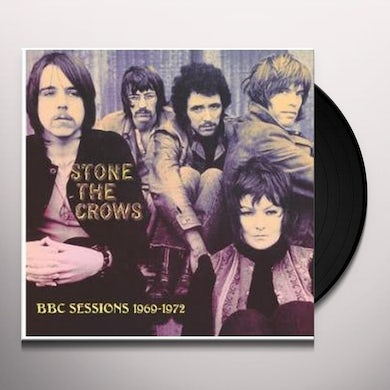 Stone The Crows BBC SESSIONS 1969/1970 Vinyl Record