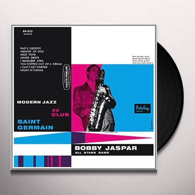 Bobby Jaspar MODERN JAZZ AU CLUB SA Vinyl Record