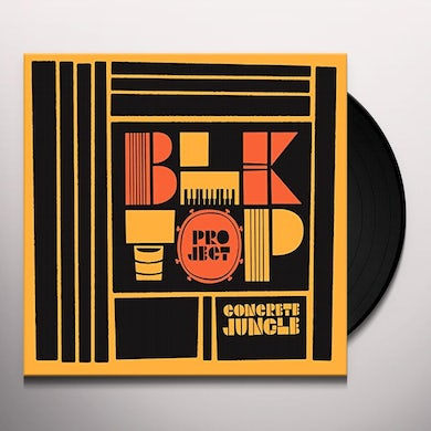 Blktop Project CONCRETE JUNGLE Vinyl Record