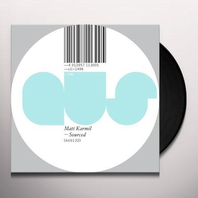 Matt Karmil SOURCED Vinyl Record