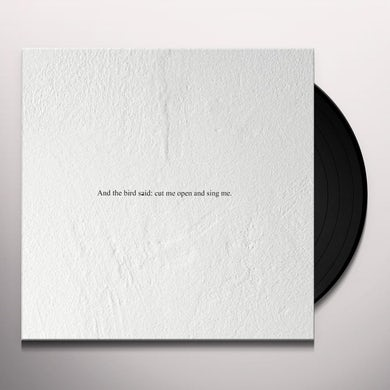 PRAIRIE BIRD SAID: CUT ME OPEN AND SING ME Vinyl Record
