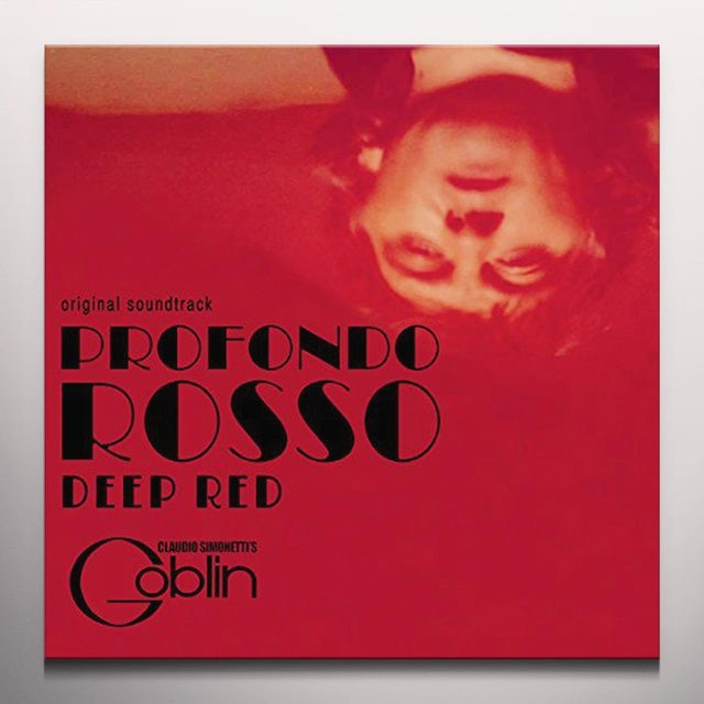 CLAUDIO SIMONETTI'S GOBLIN  DEEP RED / PROFONDO ROSSO - Original Soundtrack Vinyl Record