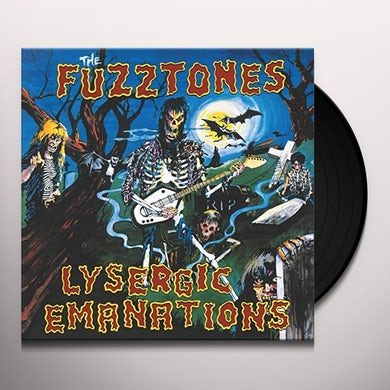 The Fuzztones LYSERGIC EMANATIONS Vinyl Record