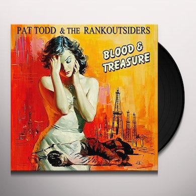 Pat Todd & The Rankoutsiders BLOOD & TREASURE Vinyl Record