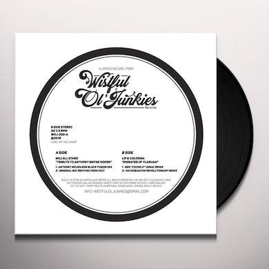 Wistful Ol Junkies All Stars / Lip & Colorina TRIBUTE TO ANTHONY WAYNE MOORE / EMIRATES YLARUAM Vinyl Record