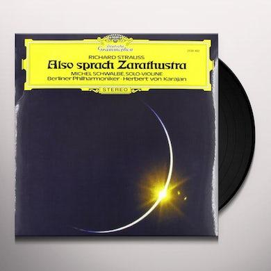 Karajan ALSO SPRACH ZARATHUSTRA Vinyl Record