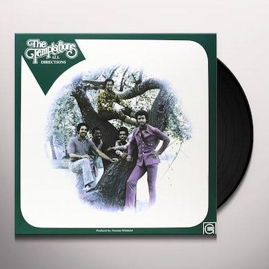 The Temptations ALL DIRECTIONS Vinyl Record - 180 Gram Pressing
