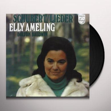 Schubert / Elly Ameling LIEDER Vinyl Record