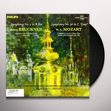 Eugen / Concertgebouw Of Amsterdam Jochum BRUCKNER: SYMPHONY 5 / MOZART: SYMPHONY 36 Vinyl Record