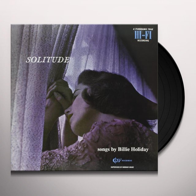 Billie Holiday SOLITUDE Vinyl Record - 180 Gram Pressing