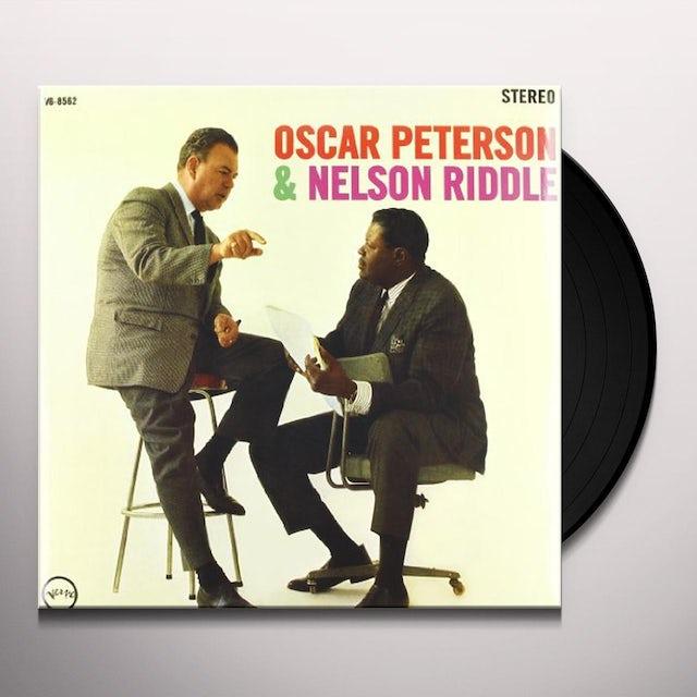 Oscar Peterson TRIO & THE ORCHESTRA Vinyl Record - 180 Gram Pressing