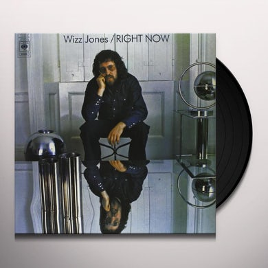 Wizz Jones RIGHT NOW Vinyl Record