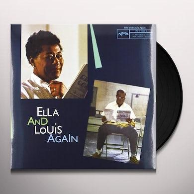 Ella Fitzgerald ELLA & LOUIS AGAIN (Vinyl)