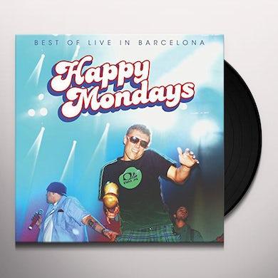 Happy Mondays BEST OF: LIVE IN BARCELONA Vinyl Record
