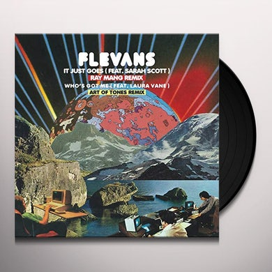 Flevans IT JUST GOES (RAY MANG REMIX) Vinyl Record