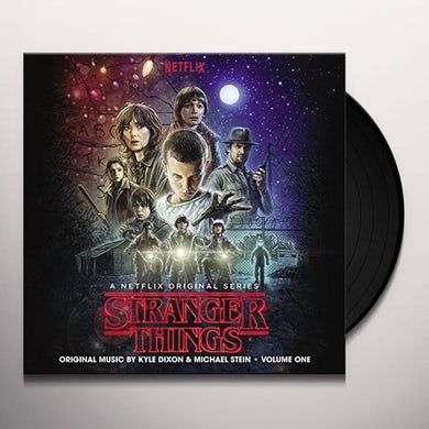 Kyle Dixon STRANGER THINGS SEASON 1 VOL 1 / O.S.T. Vinyl Record - UK Release