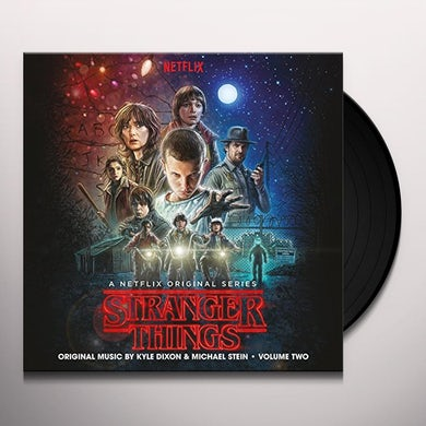 Kyle Dixon STRANGER THINGS 2 / O.S.T. Vinyl Record - UK Release