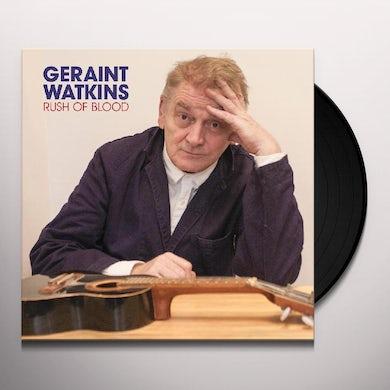 Geraint Watkins RUSH OF BLOOD Vinyl Record