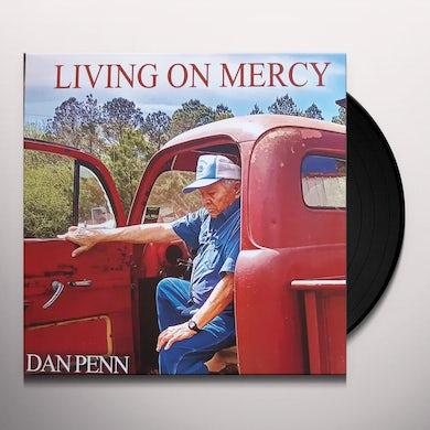 Dan Penn LIVING ON MERCY Vinyl Record