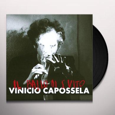 Vinicio Capossela IL BALLO DI SAN VITO Vinyl Record