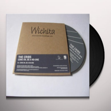The Cribs COME ON , BE A NO-ONE Vinyl Record