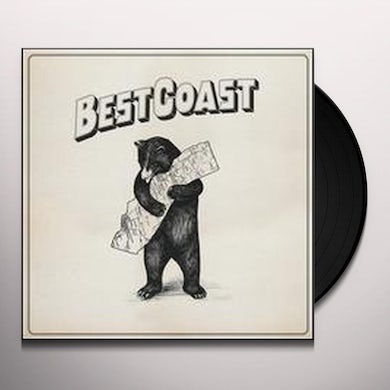 Best Coast ONLY PLACE Vinyl Record - UK Release