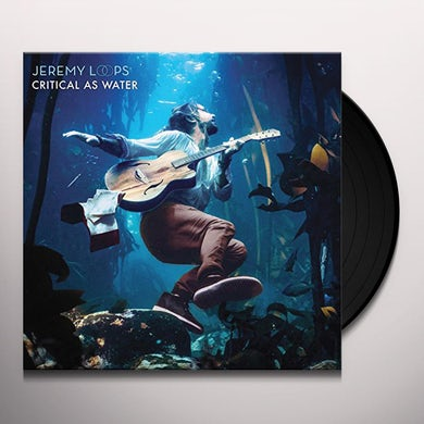 Jeremy Loops CRITICAL AS WATER Vinyl Record