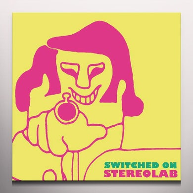 Stereolab SWITCHED ON 1 - Limited Edition Clear Colored Vinyl Record