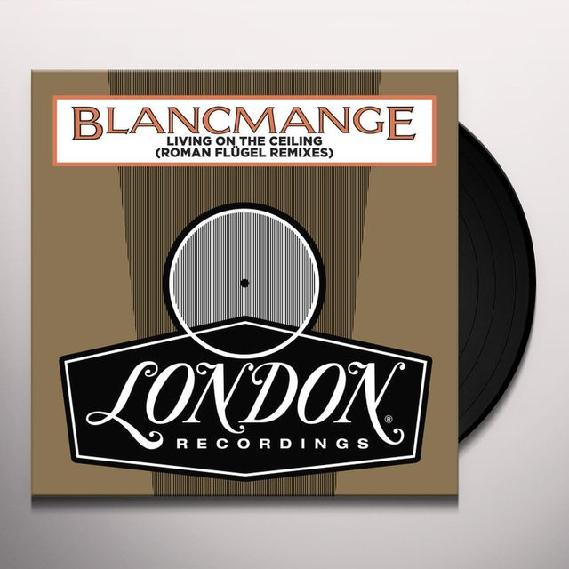 Blancmange LIVING ON THE CEILING (ROMAN FLUGEL REMIXES) Vinyl Record