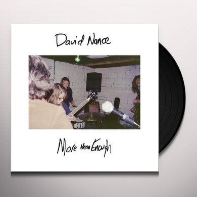 David Nance MORE THAN ENOUGH Vinyl Record