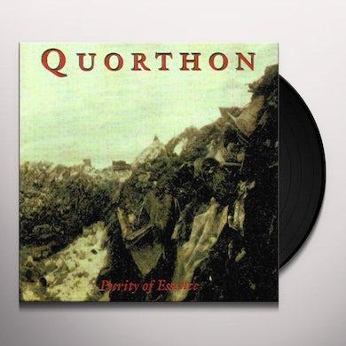 Quorthon PURITY OF ESSENCE Vinyl Record