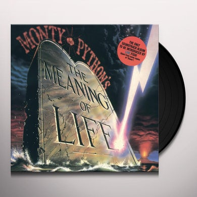 Monty Python MEANING OF LIFE Vinyl Record