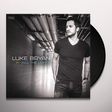 Luke Bryan KILL THE LIGHTS Vinyl Record