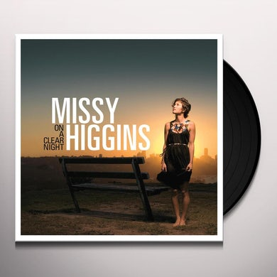 Missy Higgins ON A CLEAR NIGHT Vinyl Record