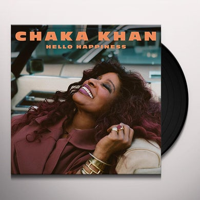 Chaka Khan HELLO HAPPINESS Vinyl Record