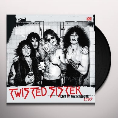 Twisted Sister LIVE AT THE MARQUEE 1983 (RSC 2018 EXCLUSIVE) Vinyl Record