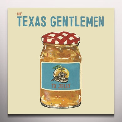 Texas Gentlemen TX JELLY - Limited Edition 150 Gram Colored Vinyl Record