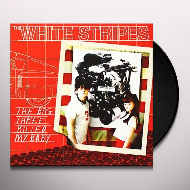 The White Stripes BIG THREE KILLED MY BABY / RED BOWLING BALL RUTH Vinyl Record