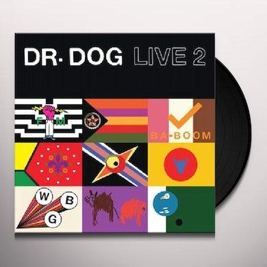 Dr. Dog LIVE 2 Vinyl Record